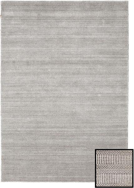 Bambus Grass - Beige Tæppe 160X230 Moderne Lysegrå (Uld/Bambus Silke, Tyrkiet)