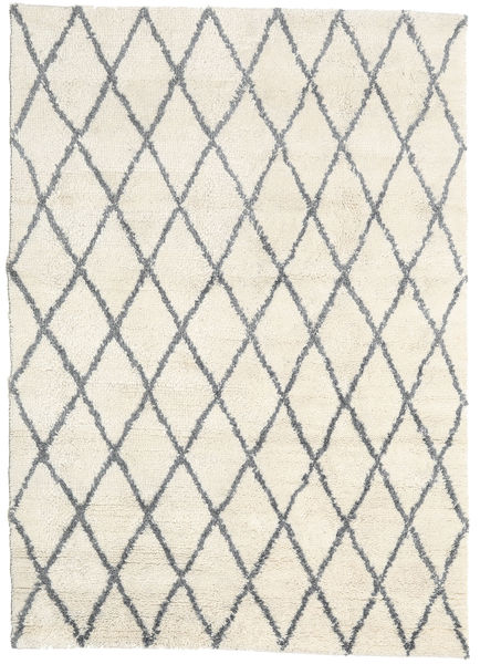 Queens - Grå - Comb. Tæppe 160X230 Moderne Beige (Uld, Indien)