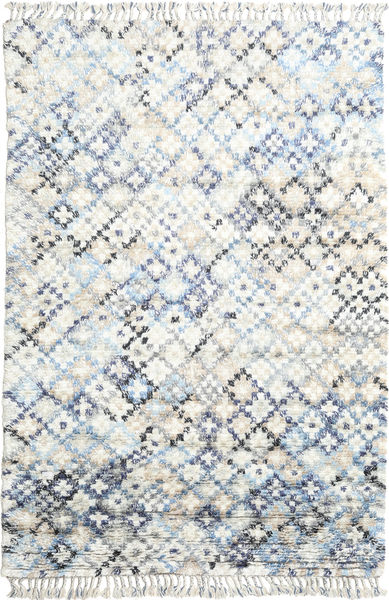Greta Tæppe 200X300 Ægte Moderne Håndknyttet Hvid/Creme/Beige (Uld, Indien)