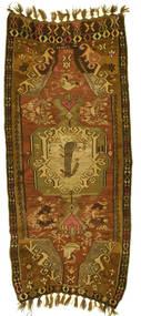 Kelim Kars Tæppe 160X400 Ægte Orientalsk Håndvævet Tæppeløber (Uld, Tyrkiet)