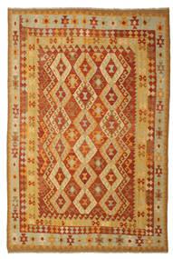 Kelim Afghan Old Style Tæppe 197X293 Ægte Orientalsk Håndvævet (Uld, Afghanistan)