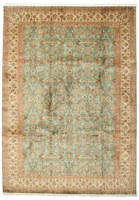 Kashmir Pure Silke Tæppe 223X313 Ægte Orientalsk Håndknyttet (Silke, Indien)