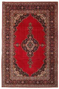 Keshan Patina Tæppe 240X374 Ægte Orientalsk Håndknyttet Mørkerød/Mørkebrun (Uld, Persien/Iran)