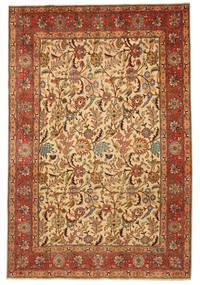 Tabriz Patina Figurativt/Billedligt Signatur: Hadadian Tæppe 203X304 Ægte Orientalsk Håndknyttet (Uld, Persien/Iran)