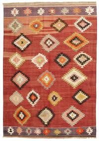 Kelim Karakecili Tæppe 165X240 Ægte Orientalsk Håndvævet (Uld, Tyrkiet)