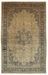 Mashad Astan Ghods Tæppe 508X789 Ægte Orientalsk Håndknyttet Lysebrun/Mørkegrå Stort (Uld, Persien/Iran)
