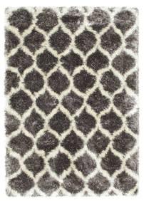 Berber Style Shaggy Regal - Grå/Beige Tæppe 160X230 Moderne ( Tyrkiet)