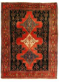 Senneh Tæppe 126X175 Ægte Orientalsk Håndknyttet (Uld, Persien/Iran)