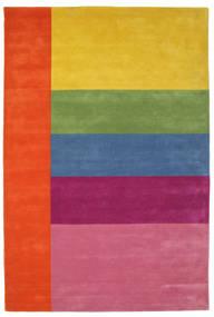 Colors By Meja Handtufted Tæppe 200X300 Moderne Rosa/Gul (Uld, Indien)