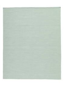 Kelim Loom - Mint Grøn Tæppe 200X250 Ægte Moderne Håndvævet Pastel Grøn/Turkis Blå (Uld, Indien)