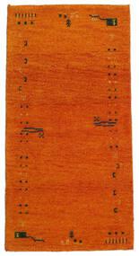 Gabbeh Indisk Tæppe 71X140 Ægte Moderne Håndknyttet Orange/Lysebrun (Uld, Indien)