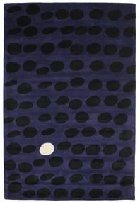 Camouflage Handtufted - Mørk Tæppe 200X300 Moderne Sort/Mørkeblå (Uld, Indien)