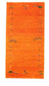 Gabbeh Indisk Tæppe 73X143 Ægte Moderne Håndknyttet Orange (Uld, Indien)