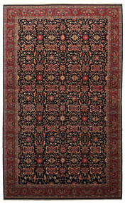 Malayer Tæppe 505X817 Ægte Orientalsk Håndknyttet Mørkebrun/Mørkerød Stort (Uld, Persien/Iran)