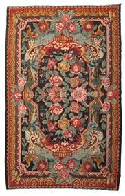 Rose Kelim Moldavia Tæppe 215X345 Ægte Orientalsk Håndvævet Rød/Olivengrøn (Uld, Moldova)