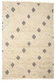 Yoko Tæppe 200X300 Ægte Moderne Håndknyttet Beige/Lysegrå (Uld, Indien)