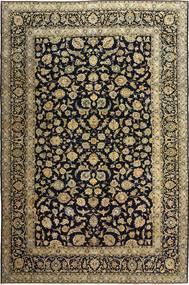 Keshan Patina Tæppe 255X385 Ægte Orientalsk Håndknyttet Sort/Lysebrun Stort (Uld, Persien/Iran)