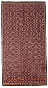Kelim Semiantik Tyrkiet Tæppe 178X335 Ægte Orientalsk Håndvævet Mørkerød/Rosa (Uld, Tyrkiet)