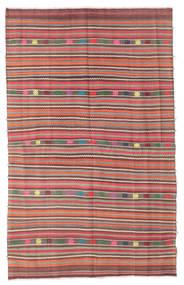 Kelim Semiantik Tyrkiet Tæppe 154X246 Ægte Orientalsk Håndvævet Lysegrå/Brun (Uld, Tyrkiet)