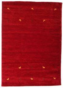 Gabbeh Loom Two Lines - Rød Tæppe 160X230 Moderne Rød/Mørkerød (Uld, Indien)