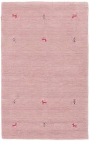 Gabbeh Loom Two Lines - Rosa Tæppe 100X160 Moderne Lyserød (Uld, Indien)