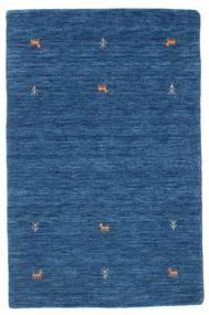 Gabbeh Loom Two Lines - Blå Tæppe 100X160 Moderne Mørkeblå/Blå (Uld, Indien)