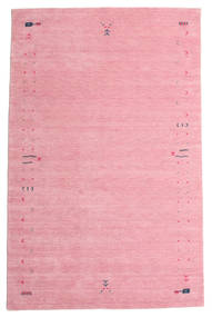 Gabbeh Loom Frame - Rosa Tæppe 190X290 Moderne Lyserød/Rosa (Uld, Indien)