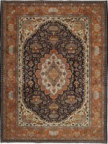 Kashmar Patina Tæppe 253X340 Ægte Orientalsk Håndknyttet Mørkebrun/Brun Stort (Uld, Persien/Iran)