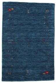 Gabbeh Loom Frame - Mørkeblå Tæppe 100X160 Moderne Mørkeblå (Uld, Indien)