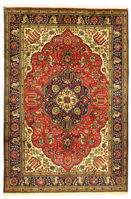 Tabriz Tæppe 208X304 Ægte Orientalsk Håndknyttet (Uld, Persien/Iran)