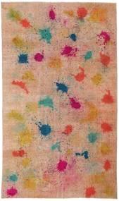 Colored Vintage Tæppe 170X286 Ægte Moderne Håndknyttet Lysebrun/Mørkerød (Uld, Tyrkiet)