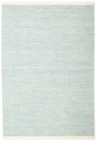 Seaby - Blå Tæppe 160X230 Ægte Moderne Håndvævet Turkis Blå/Hvid/Creme (Uld, Indien)