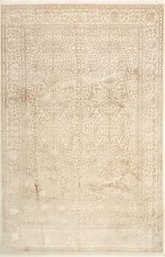 Tabriz Royal Magic Tæppe 200X306 Ægte Orientalsk Håndknyttet Beige ( Indien)