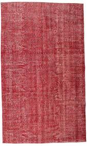 Colored Vintage Tæppe 165X279 Ægte Moderne Håndknyttet Rød/Rust (Uld, Tyrkiet)