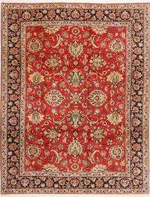 Bidjar Tæppe 312X402 Ægte Orientalsk Håndknyttet Rust/Mørkebrun Stort (Uld/Silke, Persien/Iran)