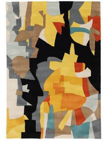 Rasmus Tæppe 160X230 Moderne Sort/Lysebrun (Uld, Indien)