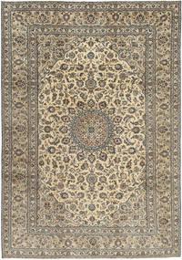 Keshan Patina Tæppe 242X350 Ægte Orientalsk Håndknyttet Lysegrå/Lysebrun (Uld, Persien/Iran)
