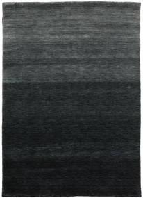 Gabbeh Up To Down Tæppe 160X230 Moderne Sort/Mørkegrøn (Uld, Indien)