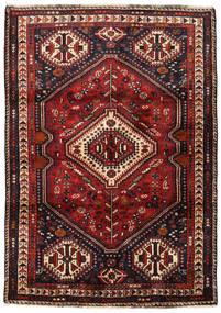 Ghashghai Tæppe 117X165 Ægte Orientalsk Håndknyttet Mørkerød/Mørkebrun (Uld, Persien/Iran)
