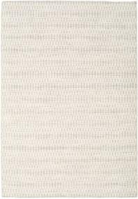 Kelim Long Stitch - Beige Tæppe 160X230 Ægte Moderne Håndvævet Lysegrå/Beige (Uld, Indien)