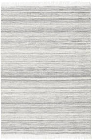 Diamond Uld - Grå Tæppe 160X230 Ægte Moderne Håndvævet Lysegrå/Hvid/Creme (Uld, Indien)