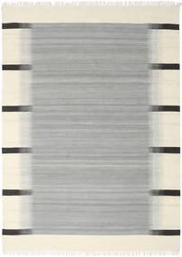 Ikat - Grå Tæppe 210X290 Ægte Moderne Håndvævet Turkis Blå/Beige (Uld, Indien)
