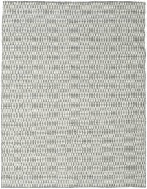 Kelim Long Stitch - Grå Tæppe 190X240 Ægte Moderne Håndvævet Lysegrå/Beige (Uld, Indien)