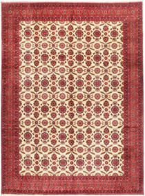 Afghan Khal Mohammadi Tæppe 295X395 Ægte Orientalsk Håndknyttet Mørkerød/Rust Stort (Uld, Afghanistan)