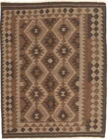 Kelim Maimane Tæppe 148X187 Ægte Orientalsk Håndvævet Brun/Mørkebrun (Uld, Afghanistan)