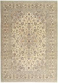 Keshan Patina Tæppe 243X340 Ægte Orientalsk Håndknyttet Beige/Lysegrå (Uld, Persien/Iran)