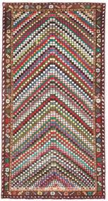 Bakhtiar Patina Tæppe 100X198 Ægte Orientalsk Håndknyttet Beige/Mørkebrun (Uld, Persien/Iran)