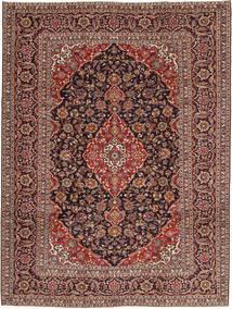 Keshan Patina Tæppe 250X338 Ægte Orientalsk Håndknyttet Mørkerød/Lysebrun Stort (Uld, Persien/Iran)
