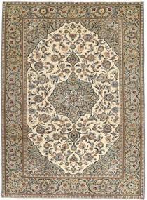 Keshan Patina Tæppe 230X325 Ægte Orientalsk Håndknyttet Lysegrå/Lysebrun (Uld, Persien/Iran)