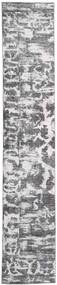 Colored Vintage - Persien/Iran Tæppe 65X383 Ægte Moderne Håndknyttet Tæppeløber Lysegrå/Beige (Uld, Persien/Iran)